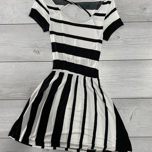 DIVIDED Black & White Dress by H&M